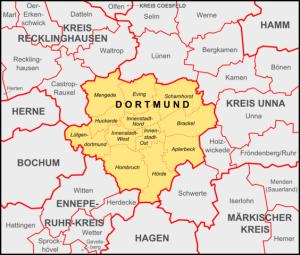 Schlüsseldienst Dortmund Stadtteile