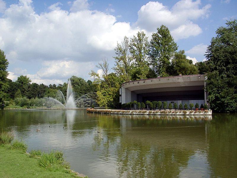 Dortmund Westfalenpark Seebühne