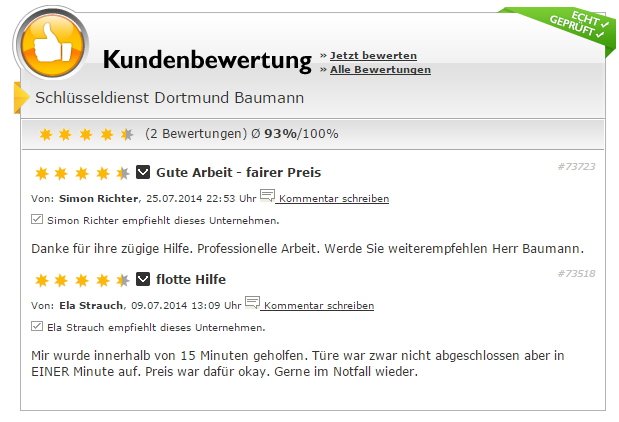 Schlüsseldienst Dortmund Schnelle Professionelle Hilfe